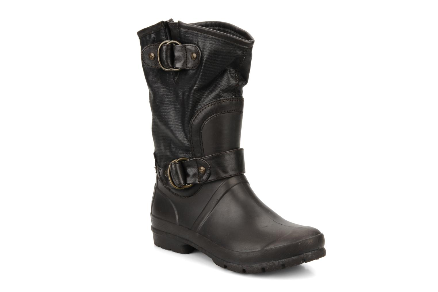 Ankle boots Mustang shoes Enrica Brown detailed view/ Pair view