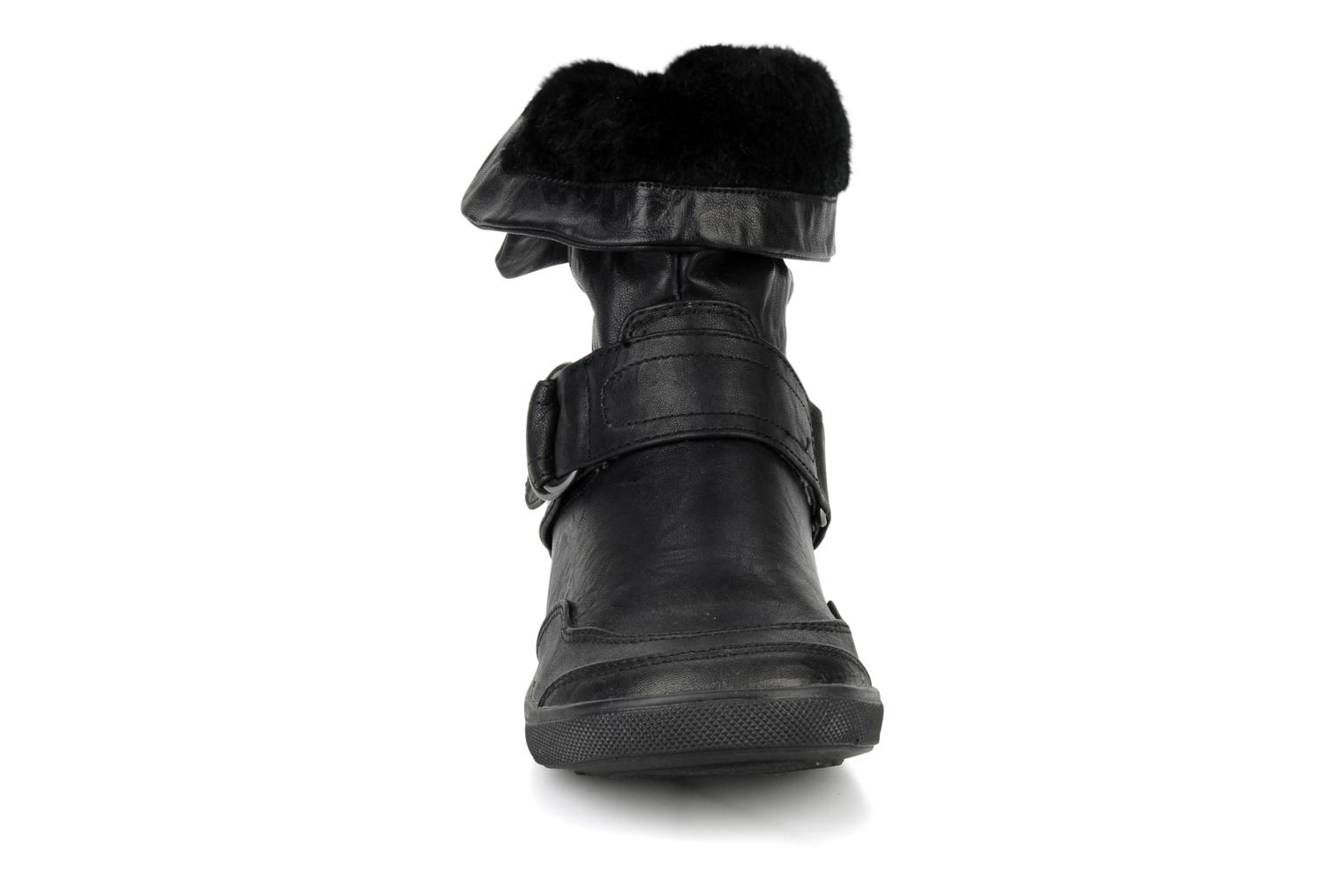 Ankle boots Mustang shoes Kevia Black model view