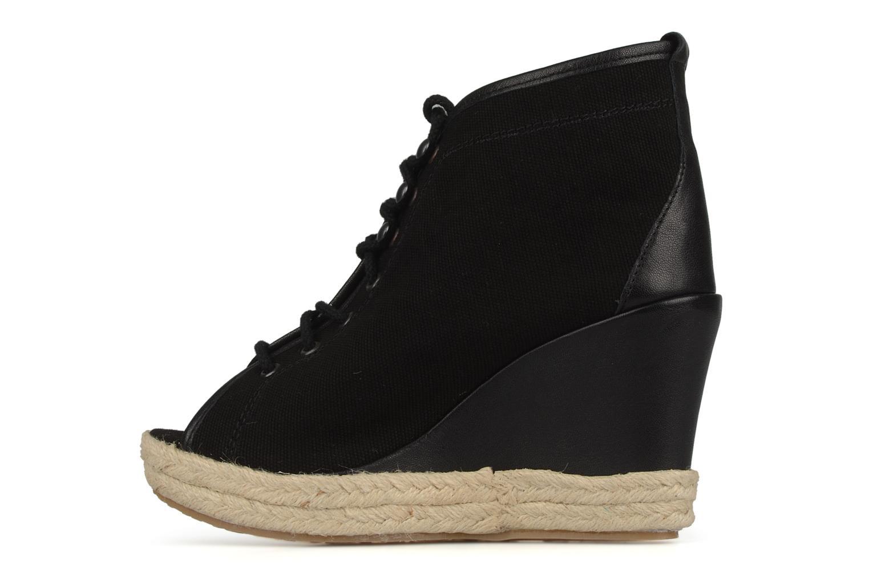 Bottines et boots Eden Tolipa Noir vue face