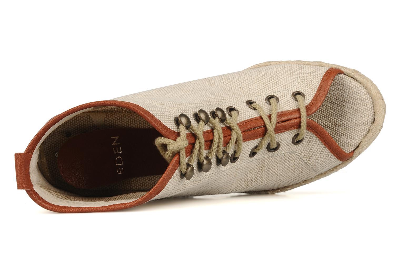 Bottines et boots Eden Tolipa Beige vue gauche