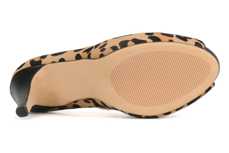Zapatos de tacón COSMOPARIS Gabia Multicolor vista de arriba