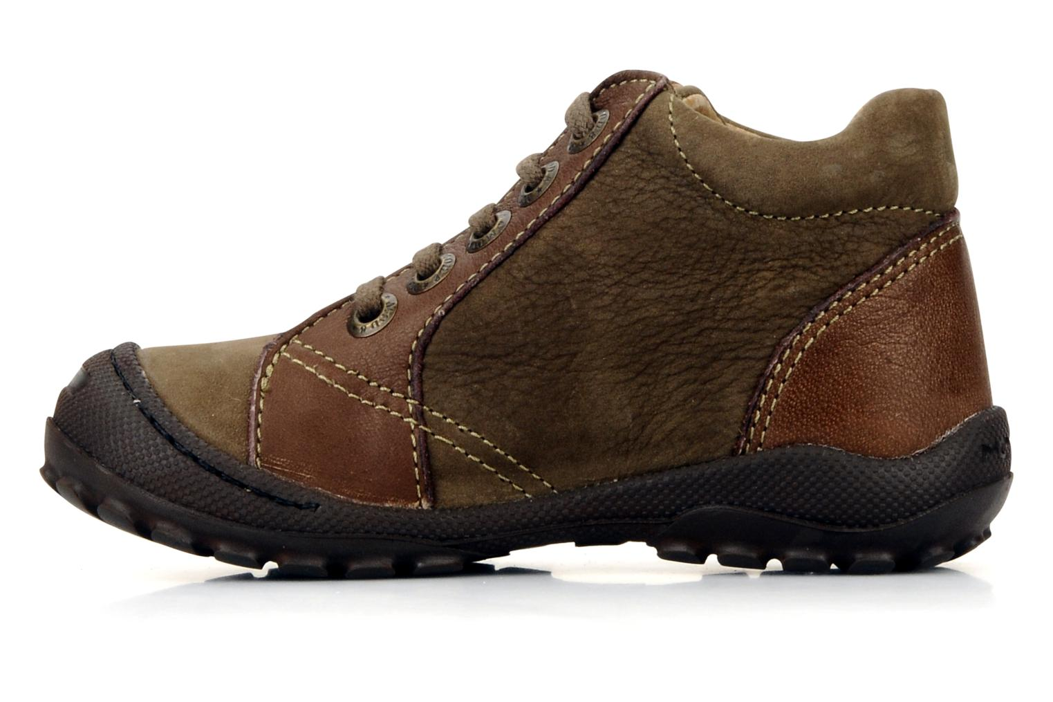 Ankle boots Mod8 Garcia Brown front view