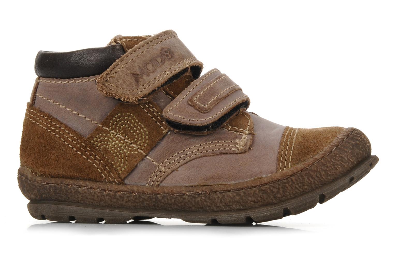 Velcro shoes Mod8 Rado Brown back view