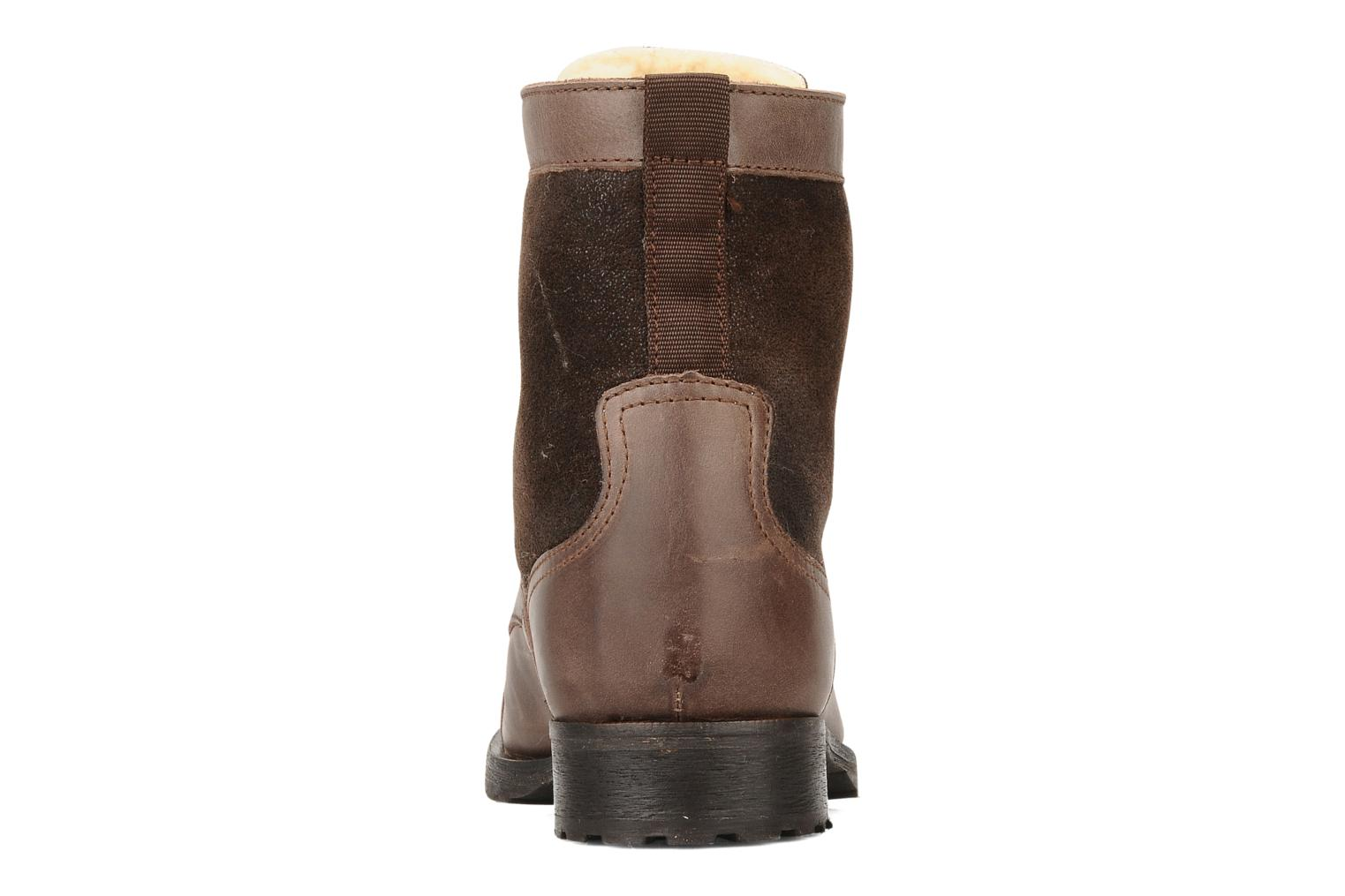 Ankle boots Buffalo Chuppa Brown view from the right