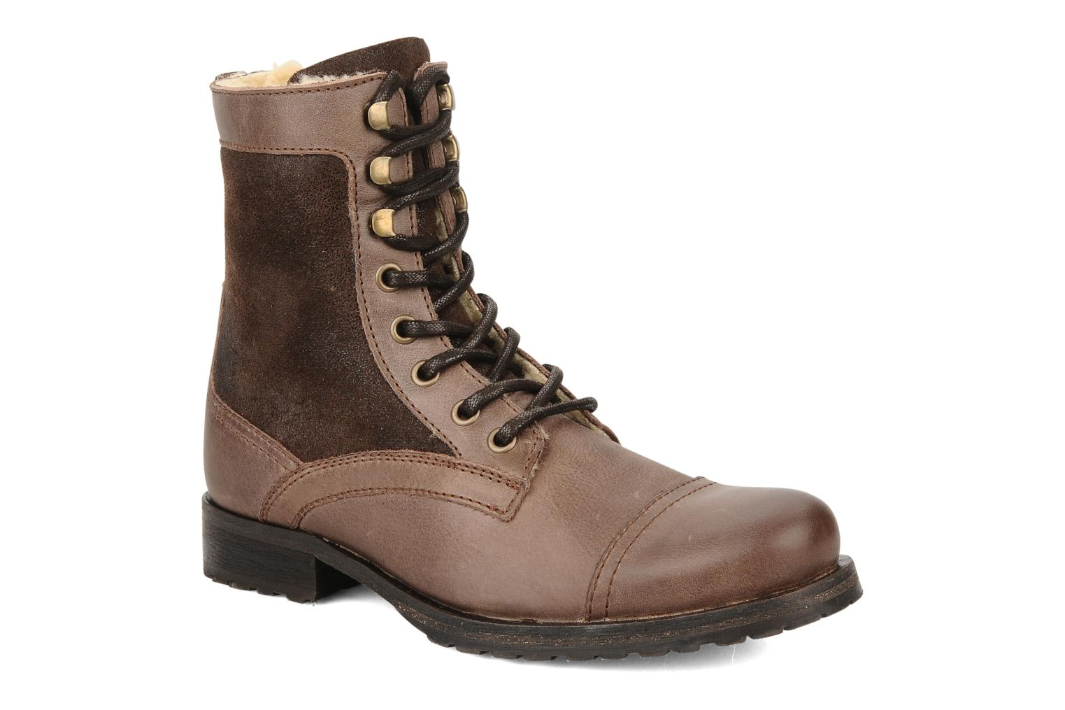 Ankle boots Buffalo Chuppa Brown detailed view/ Pair view