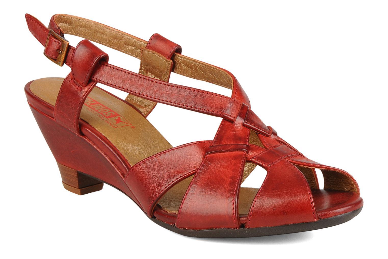 Sandales et nu-pieds Pikolinos Niza 7141 Bordeaux vue détail/paire