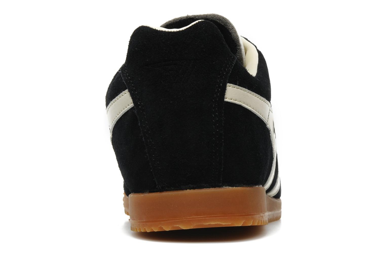 Sneakers Gola Harrier m Zwart rechts
