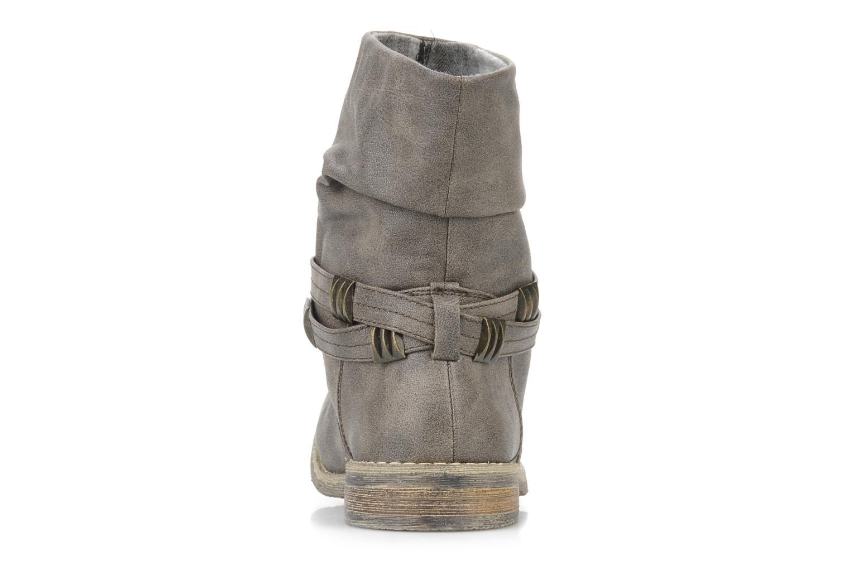 Bottines et boots Blowfish Texas Beige vue droite