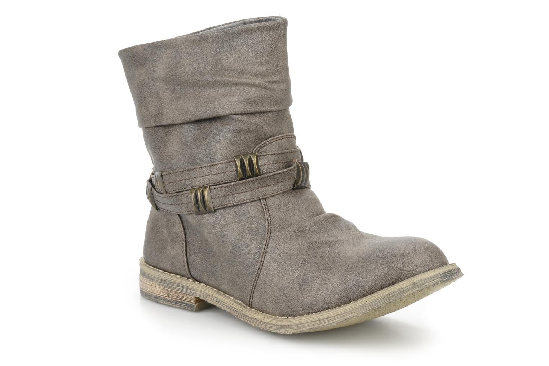 Bottines et boots Blowfish Texas Beige vue détail/paire