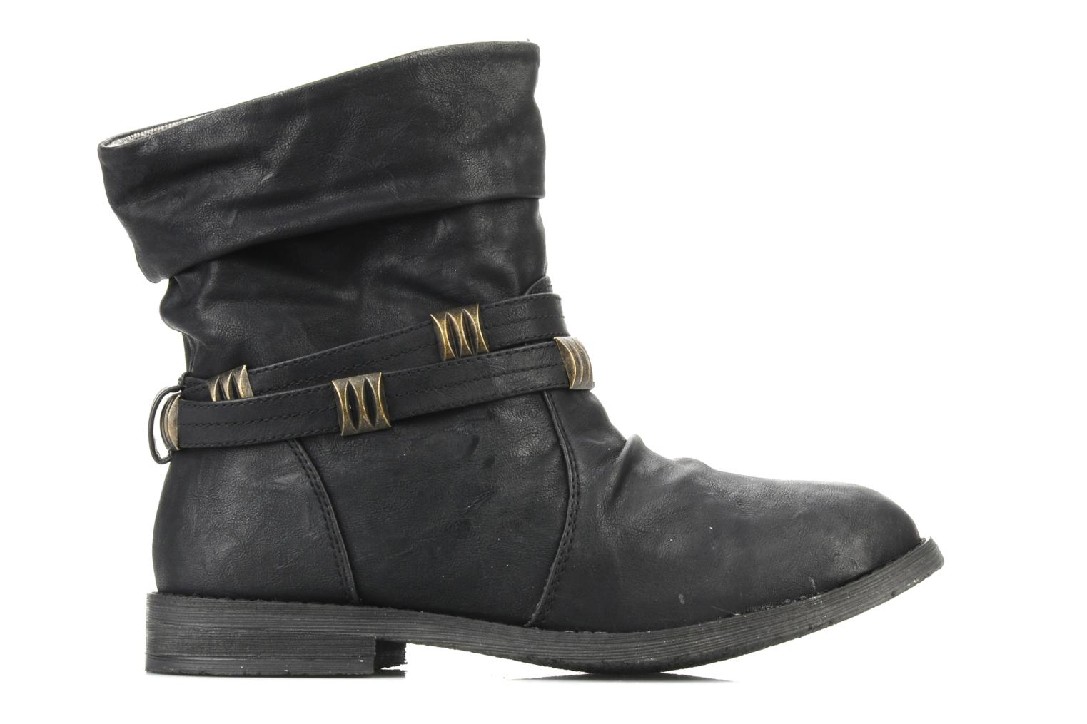 Ankle boots Blowfish Texas Black back view
