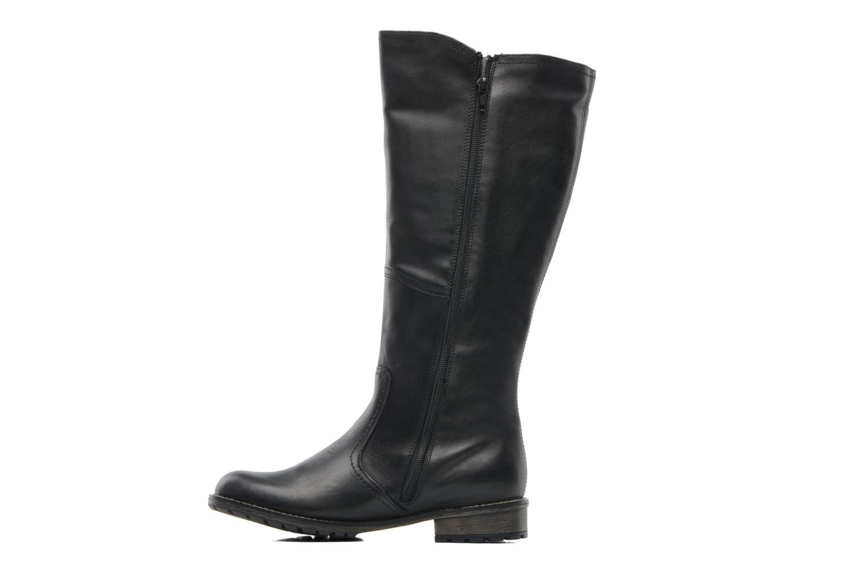 Stiefel Remonte Lamm R3370 schwarz ansicht von vorne