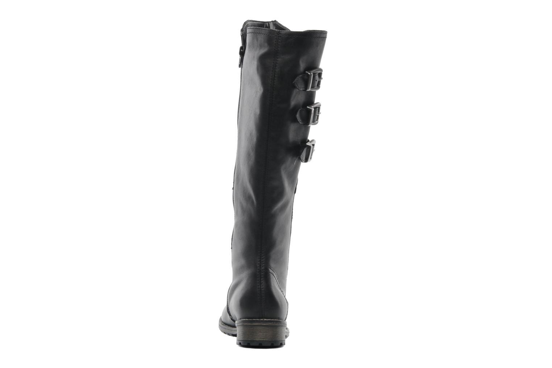 Stiefel Remonte Lamm R3370 schwarz ansicht von rechts