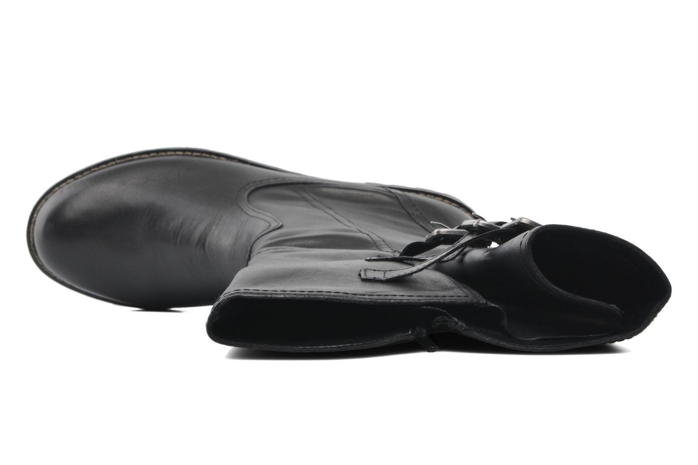 Stiefel Remonte Lamm R3370 schwarz ansicht von links