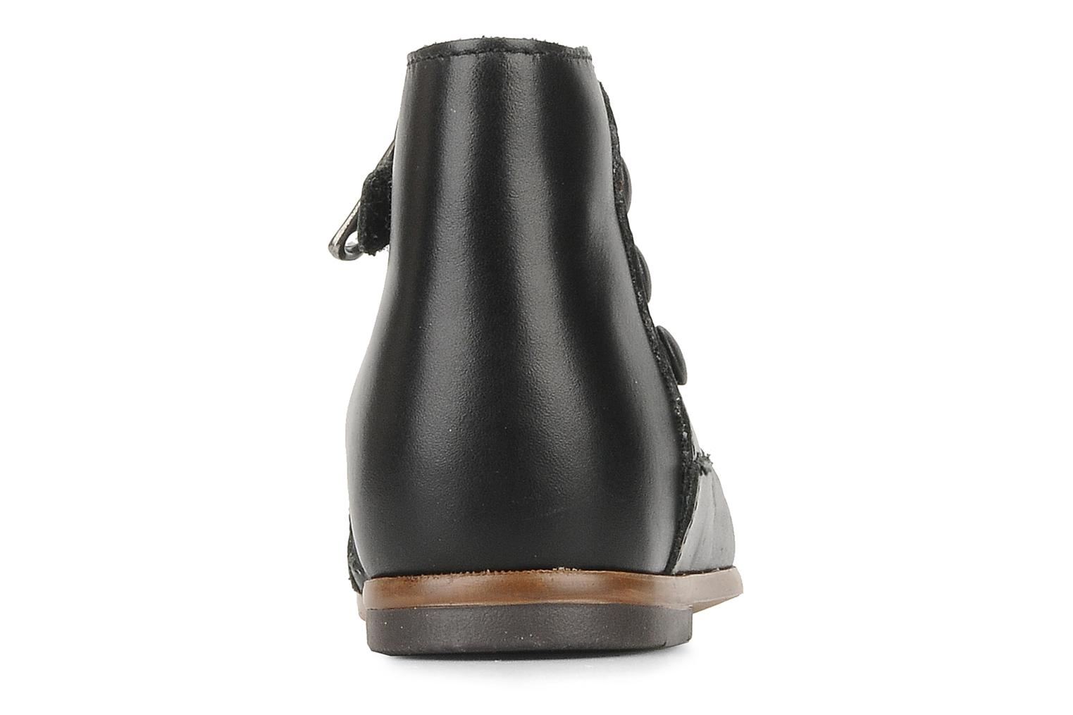 Ankle boots Little Mary Greta Black view from the right