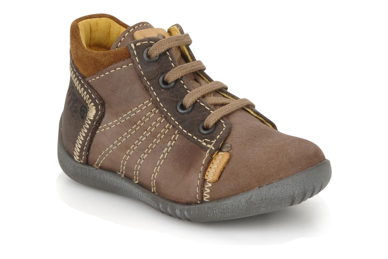 Bottines et boots Little Mary Ilboude Marron vue détail/paire