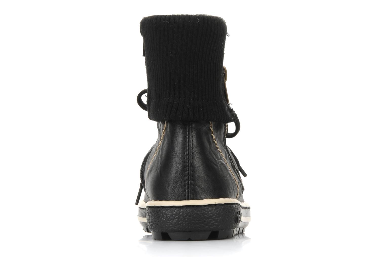 Sneakers Rieker Hulla Z8760 Zwart rechts