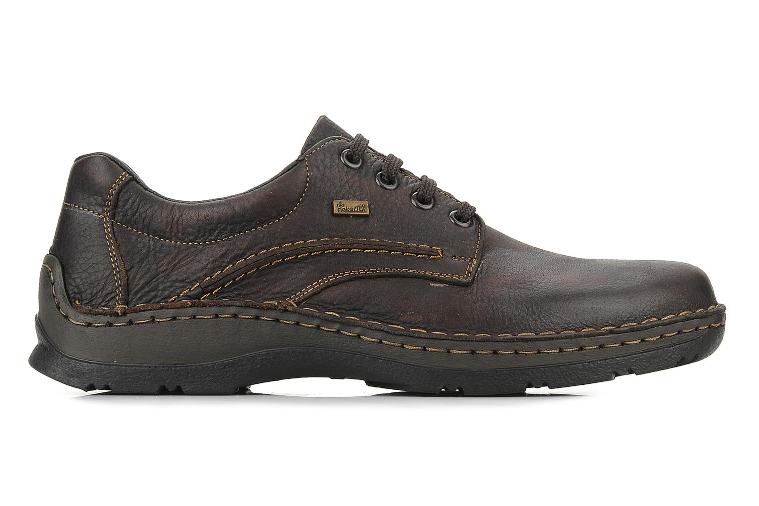 Lace-up shoes Rieker Riek 05310 Brown back view