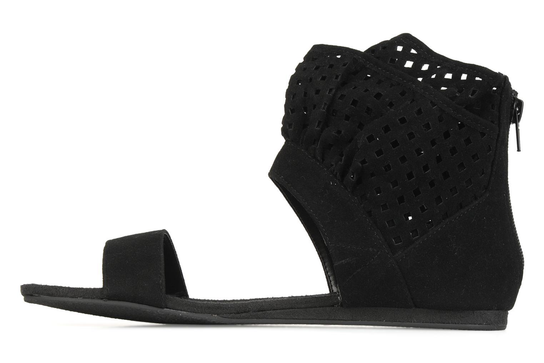Sandales et nu-pieds Latinas Holly Noir vue face