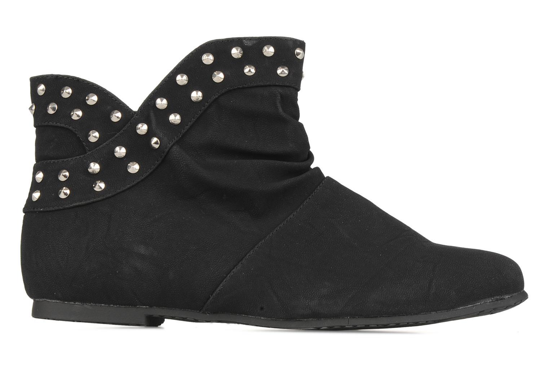 Boots en enkellaarsjes Latinas Botin Zwart achterkant