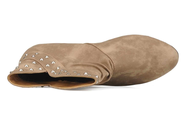 Ankelstøvler Latinas Botin Beige se fra venstre