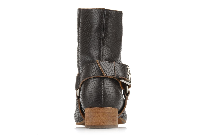 Stiefeletten & Boots Friis & company Beaneth braun ansicht von rechts