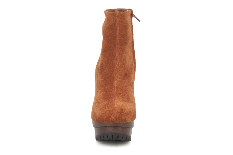 Bottines et boots Friis & company Beata Marron vue portées chaussures