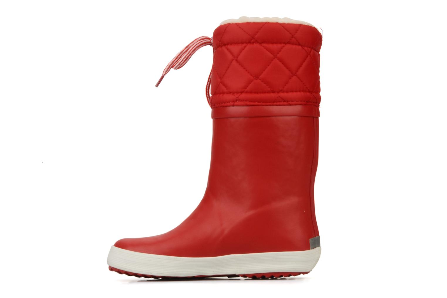Boots & wellies Aigle Giboulée Red front view