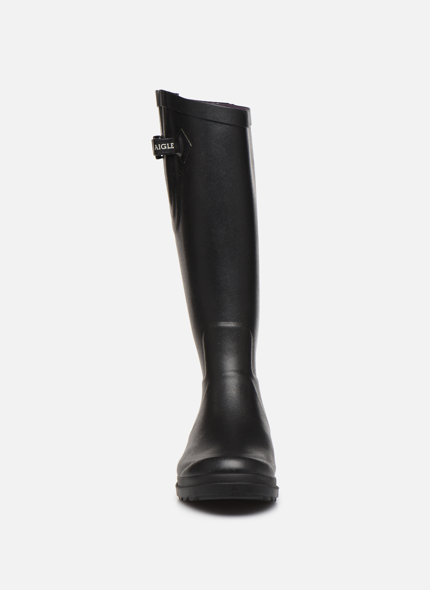 Boots & wellies Aigle Aiglentine Black model view