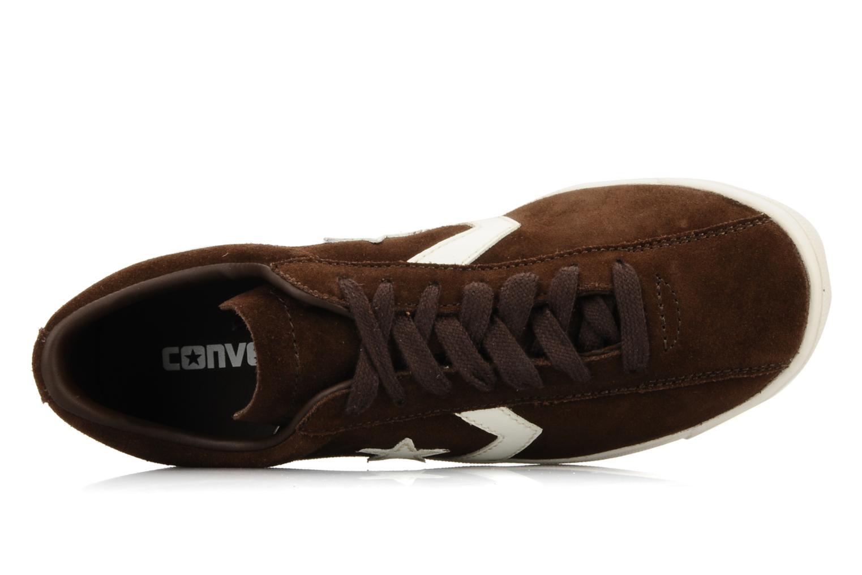 Sneakers Converse Classic trainer suede ox w Marrone immagine sinistra