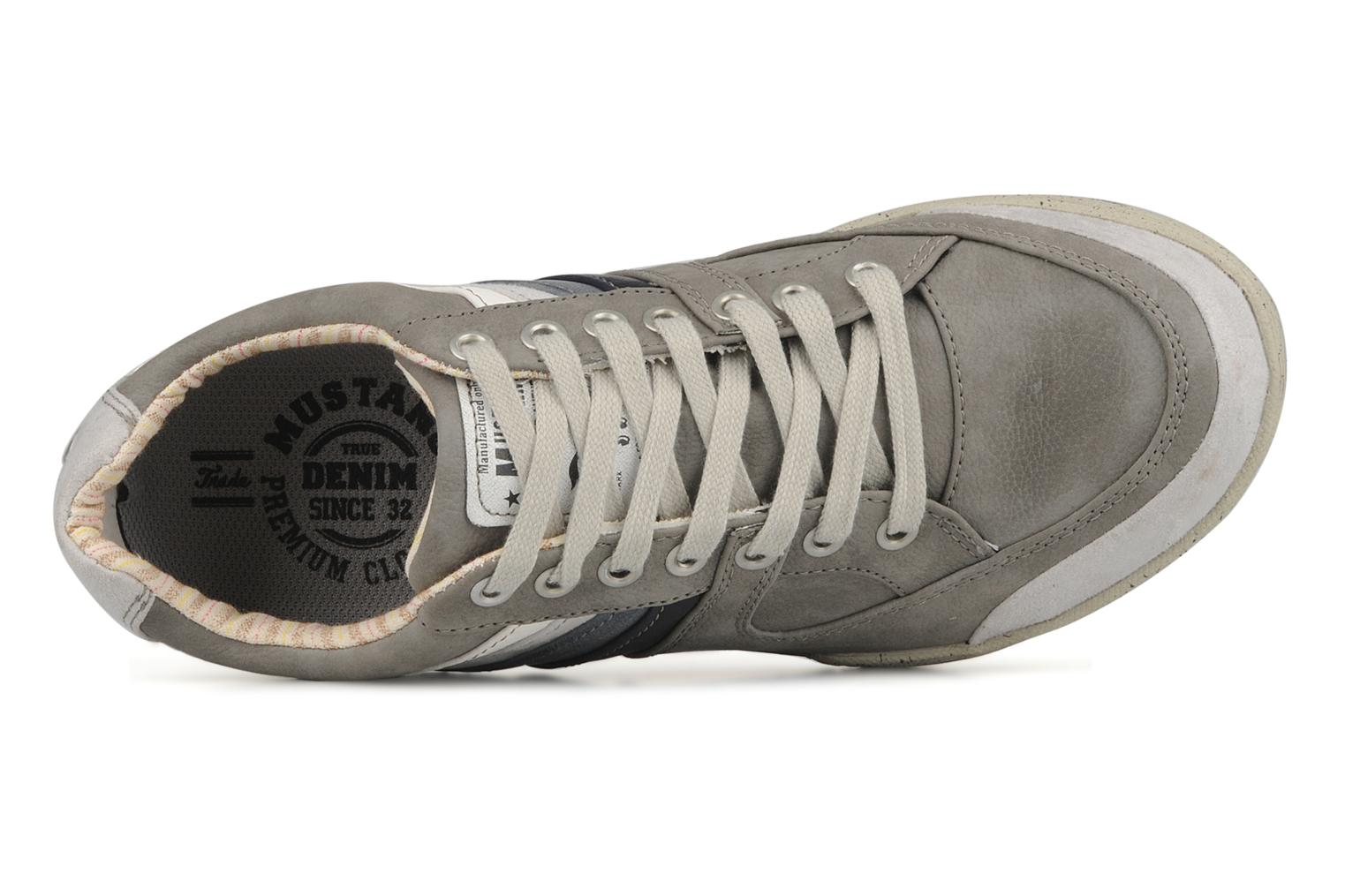 Trainers Mustang shoes Jilio Grey view from the left