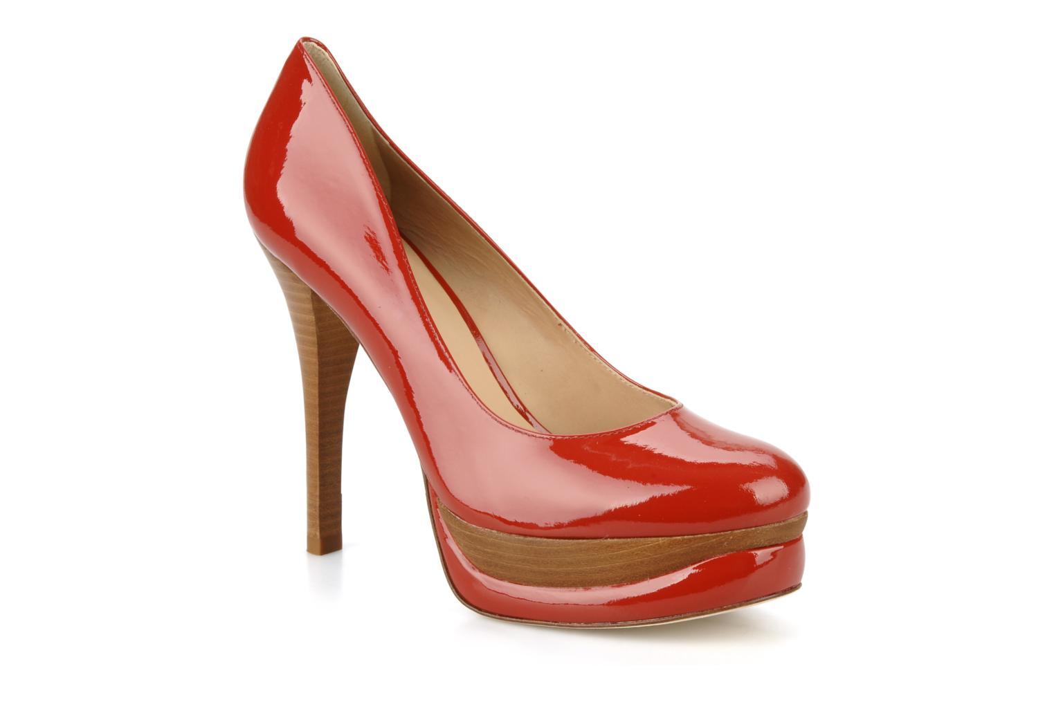 Alvery Deep red patent