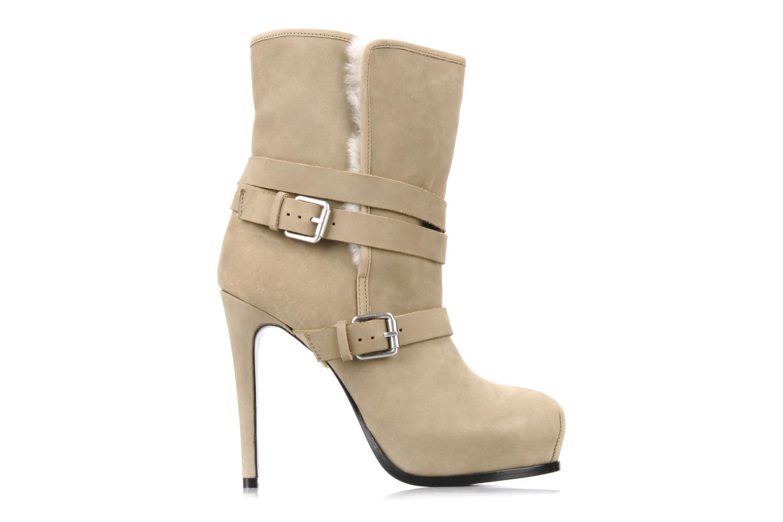 Boots en enkellaarsjes Pour La Victoire Lizzie Beige achterkant