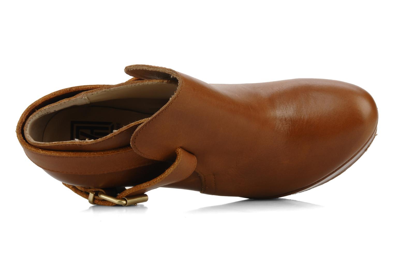 Amael Cognac leather