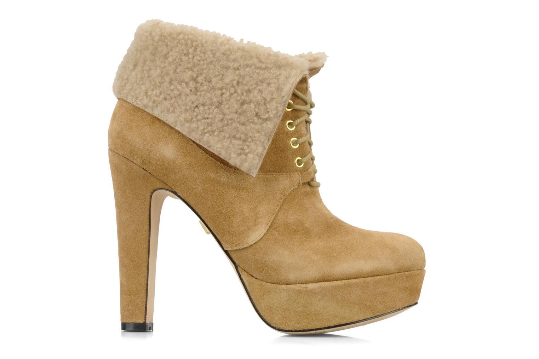 Ankle boots Pour La Victoire Aileen Beige back view
