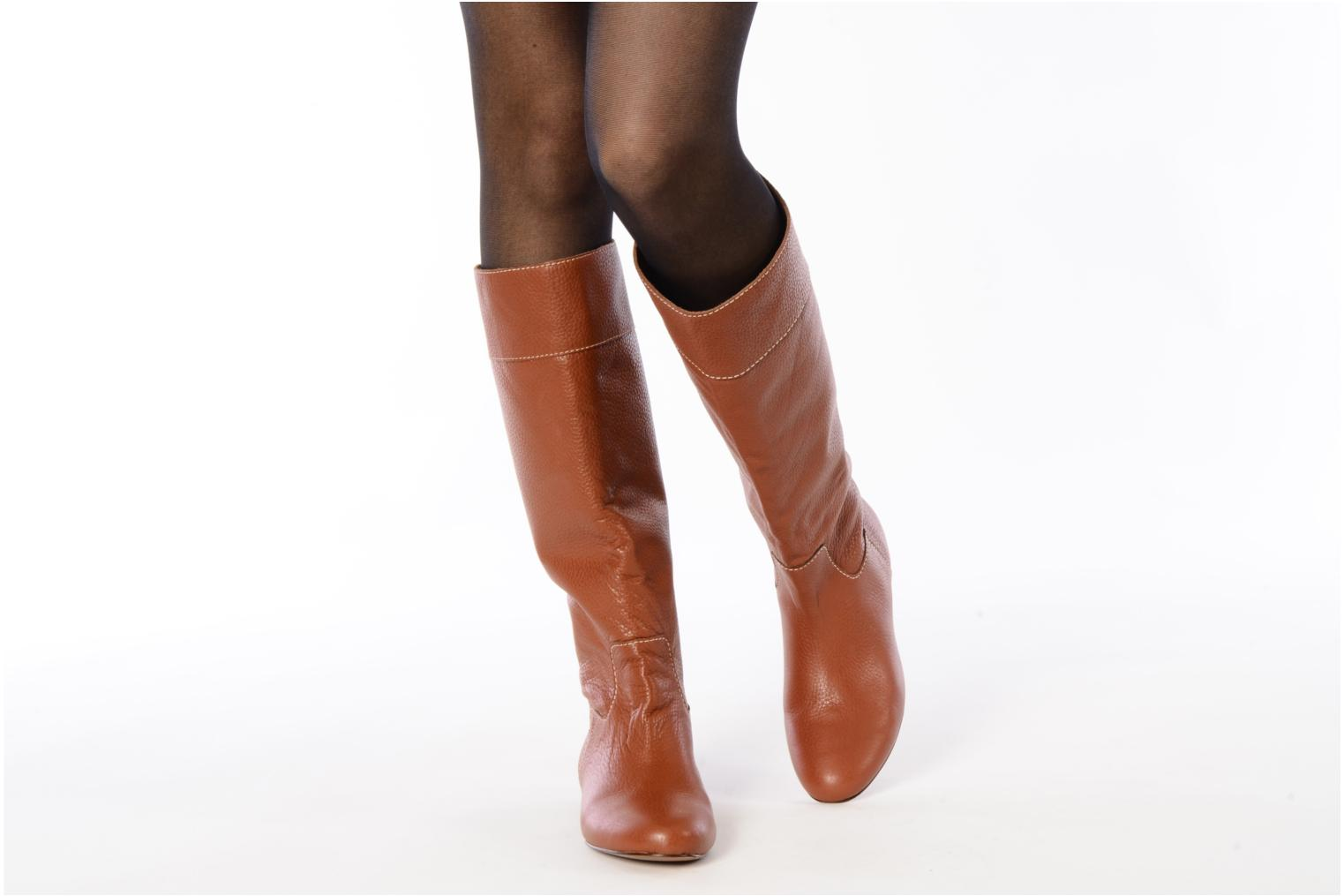 Boots & wellies Pour La Victoire Orville Brown view from underneath / model view