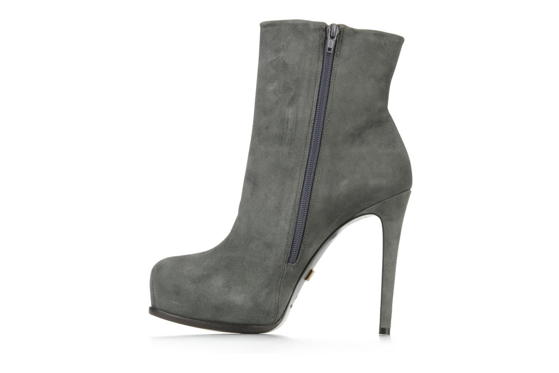 Bottines et boots Pour La Victoire Bardot Gris vue face