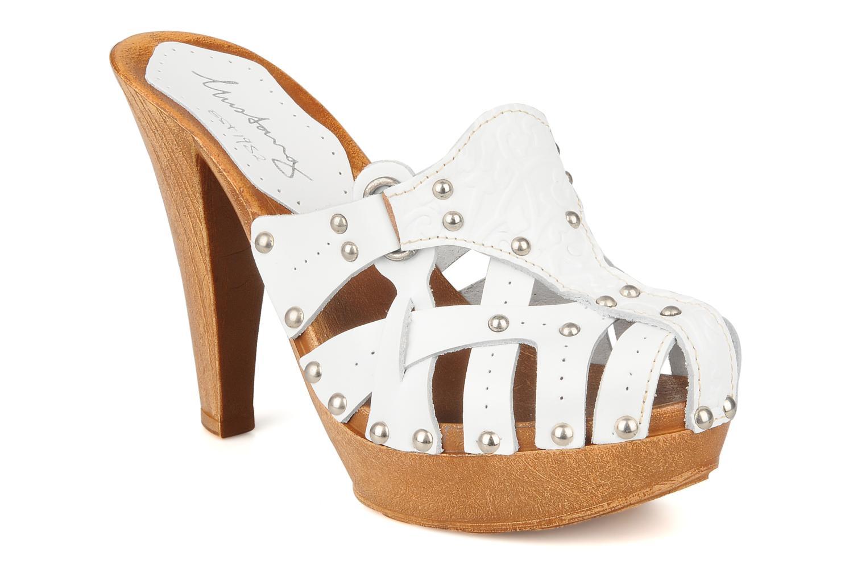 Clogs & Pantoletten Mustang shoes Bya weiß detaillierte ansicht/modell