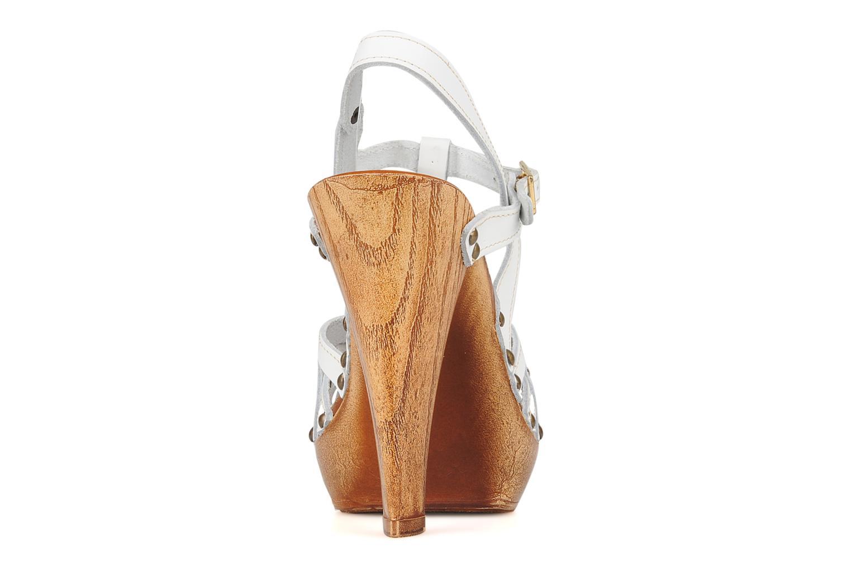 Sandalen Mustang shoes Ruy Wit rechts