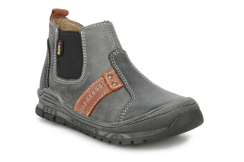 Bottines et boots Bopy Beta Noir vue détail/paire