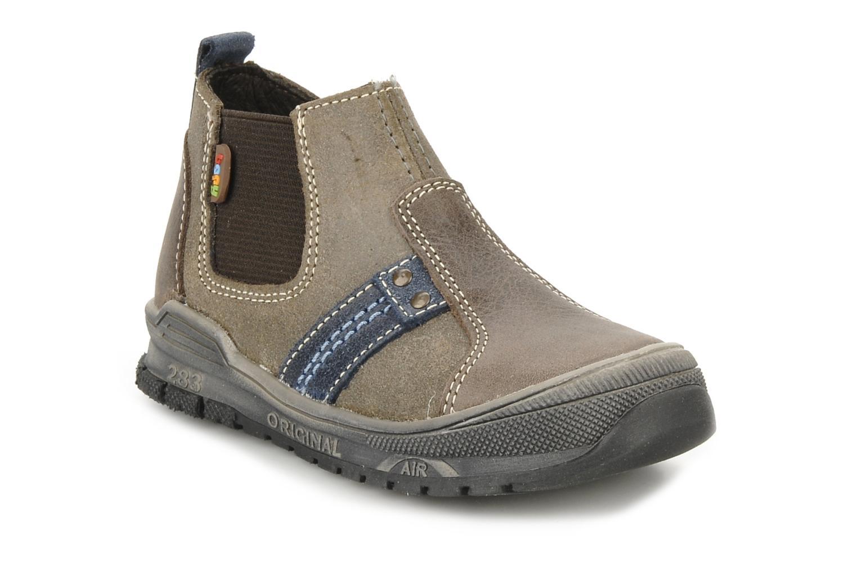 Bottines et boots Bopy Beta Marron vue détail/paire