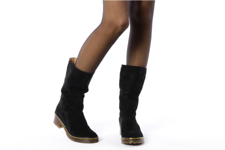 Stiefeletten & Boots Kéy Té By Kallisté Cinzia schwarz ansicht von unten / tasche getragen