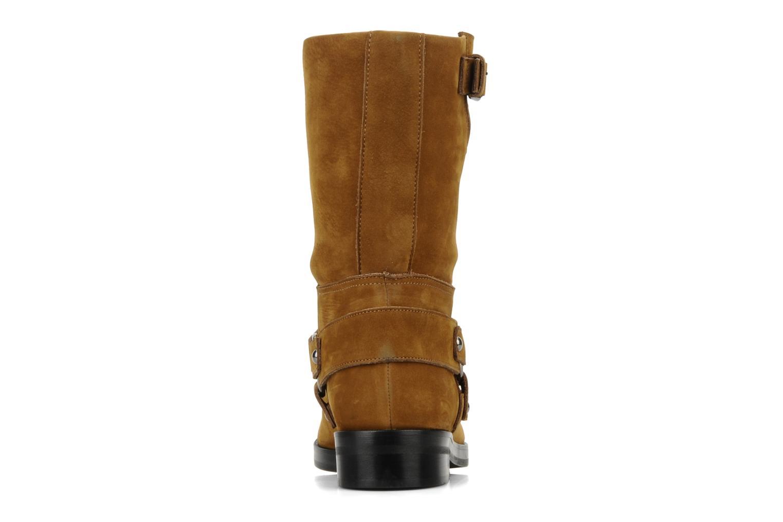 Bottines et boots Kéy Té By Kallisté Clorida Marron vue droite