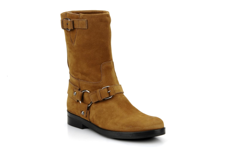 Bottines et boots Kéy Té By Kallisté Clorida Marron vue détail/paire