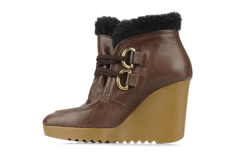 Boots en enkellaarsjes Kéy Té By Kallisté Donata Bruin voorkant