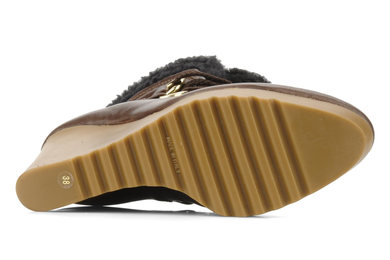 Boots en enkellaarsjes Kéy Té By Kallisté Donata Bruin boven