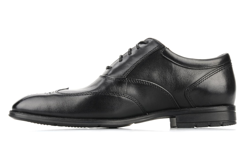 Lace-up shoes Rockport Hillandale Black front view