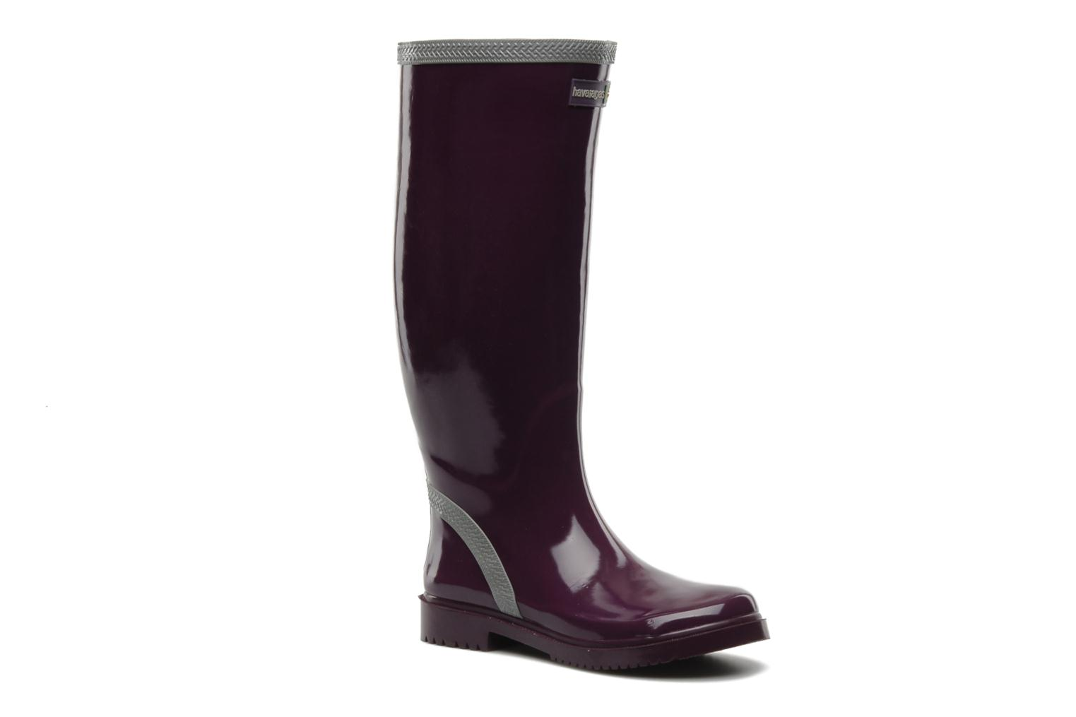Feeling wellies w Aubergine Grey