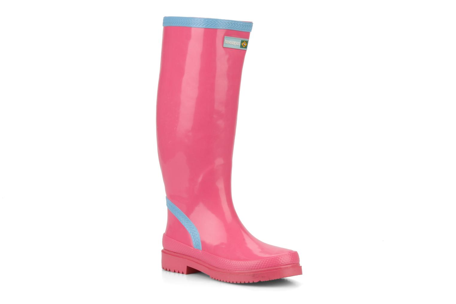 Boots & wellies Havaianas Feeling wellies w Pink detailed view/ Pair view