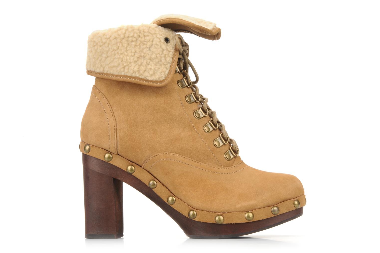 Stiefeletten & Boots No Name Mikonos boots fur beige ansicht von links