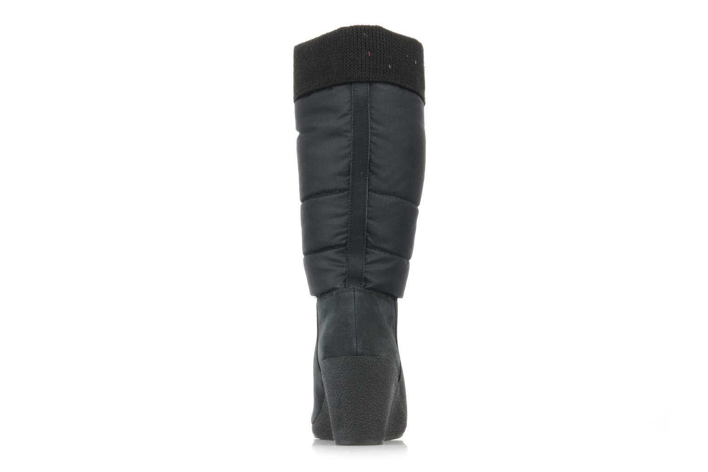 Choko ski bottes Doudoune/nubuck black